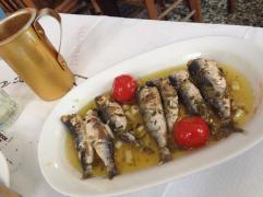 Sardines in lemon sauce