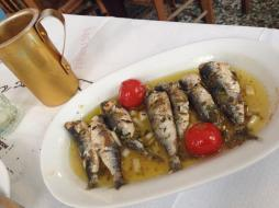 Sardines in lemon sauce