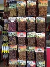 Olives everywhere