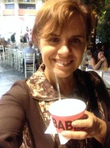 I was happy with frozen yoghurt