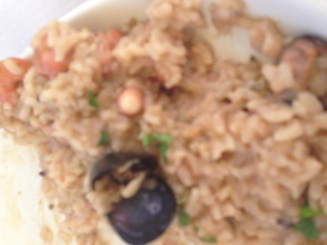 seafood rissotto to die for