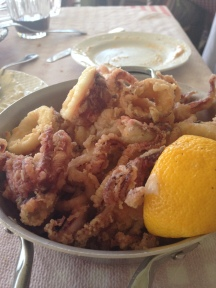 The best fried calamari ever